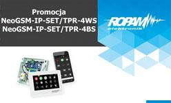 Najnowsza centrala NeoGSM-IP ROPAM,  zestaw z TPR-4WS/BS w promocyjnej cenie