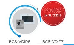 BCS-VDIP6 / BCS-VDIP7 Jednorodzinne zestawy wideodomofonowe