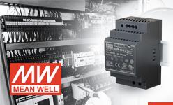 Mean Well zasilacz HDR 48V, także dla urządzeń PoE