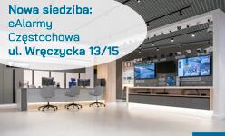 Nowa siedziba eAlarmy.pl. Częstochowa, ul. Wręczycka 13/15