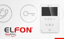 ELFON OPTIMA nowy monitor OP-VM5 do systemu cyfrowego wideofonu Optima 255.